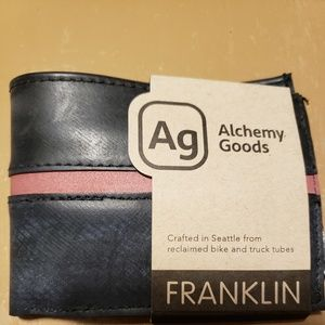 Bags - NWT Men's Wallet *Upcycled*